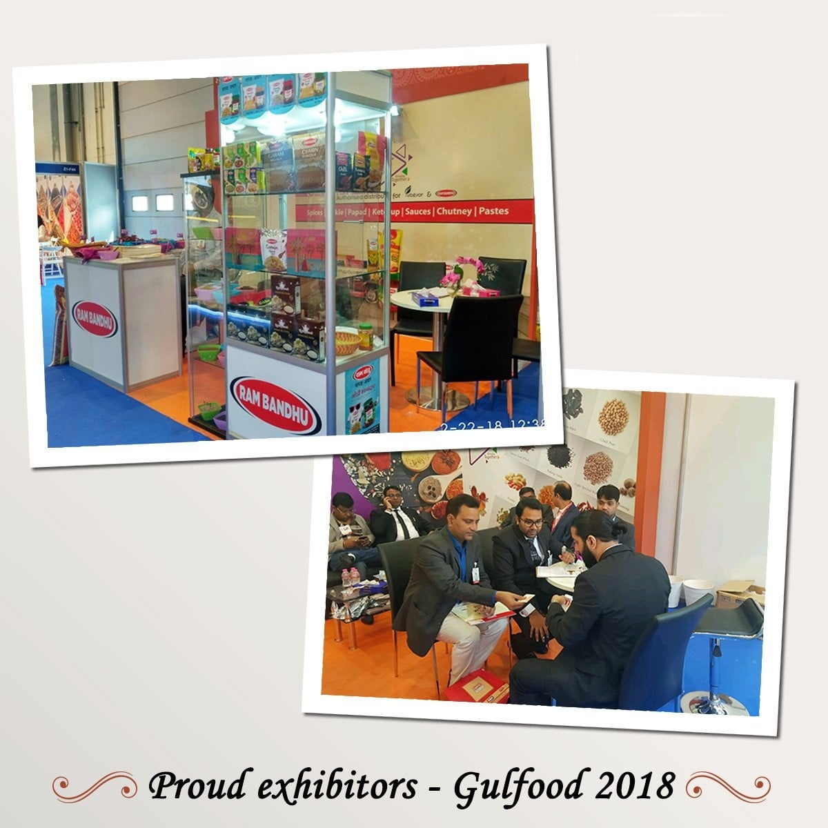 Exhibitor - Gulfood 2018, Dubai