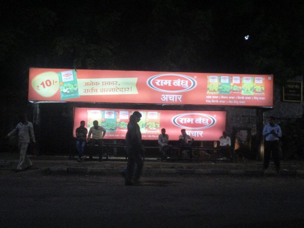 No. 8. Bus Shelter Branding (Backlit)